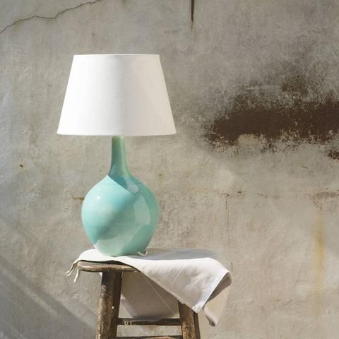 Aqua Ceramic lamp | HomeAddress