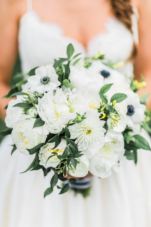 White Peony and Anemone Bridal Bouquet   Wedding Flowers   Pinterest ...