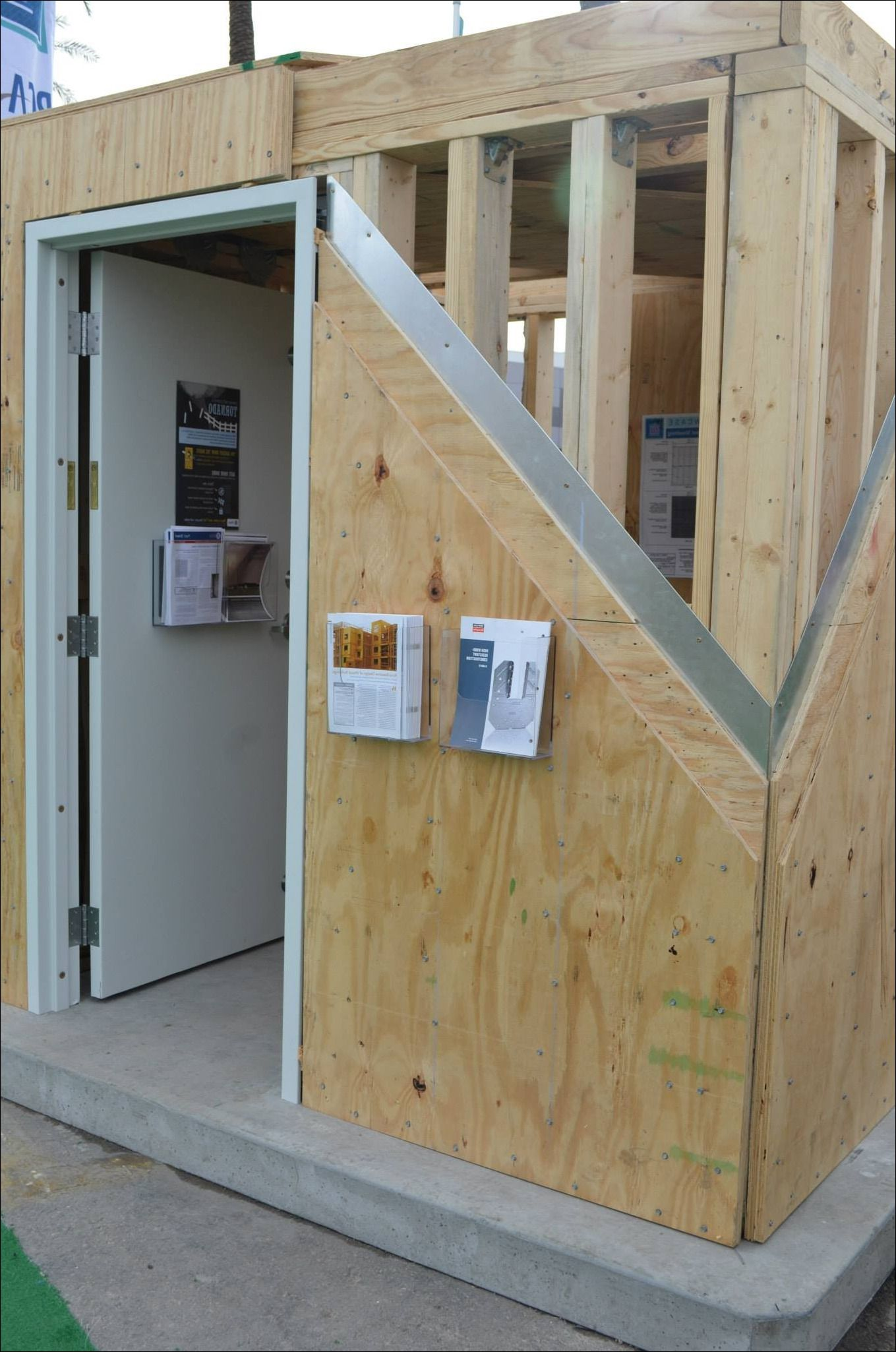 How To Build A Safe Room In Your Basement Safe Room Home Construction Bunk House