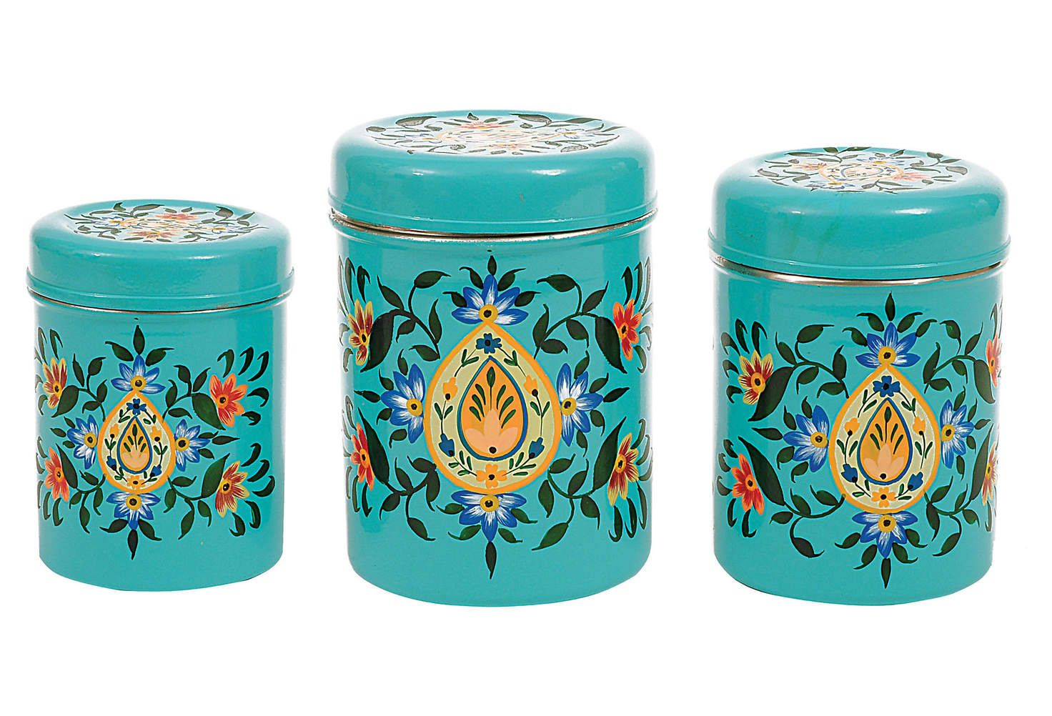Metal Canisters, 5.5\