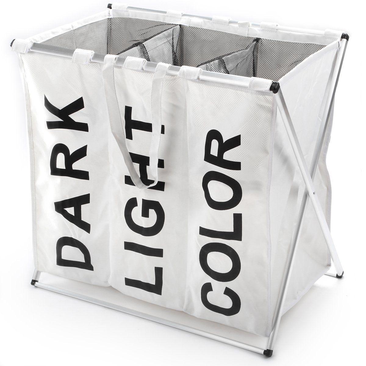 w schesammler w schekorb in 3 verschiedenen farben und 2 gr en mit einem fassungsverm gen von. Black Bedroom Furniture Sets. Home Design Ideas
