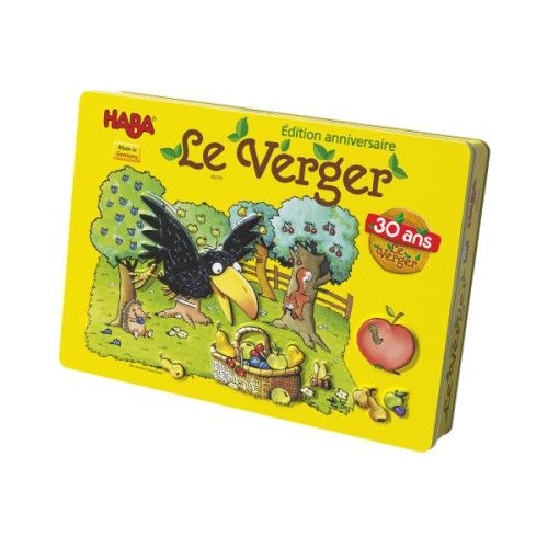 Jeu de société Le verger boîte métallisée 30 ans Haba pour enfant de 3 ans à 6 ans - Oxybul ...