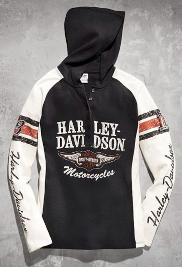 Harley Davidson clothing hoodie would be nice if i could ...