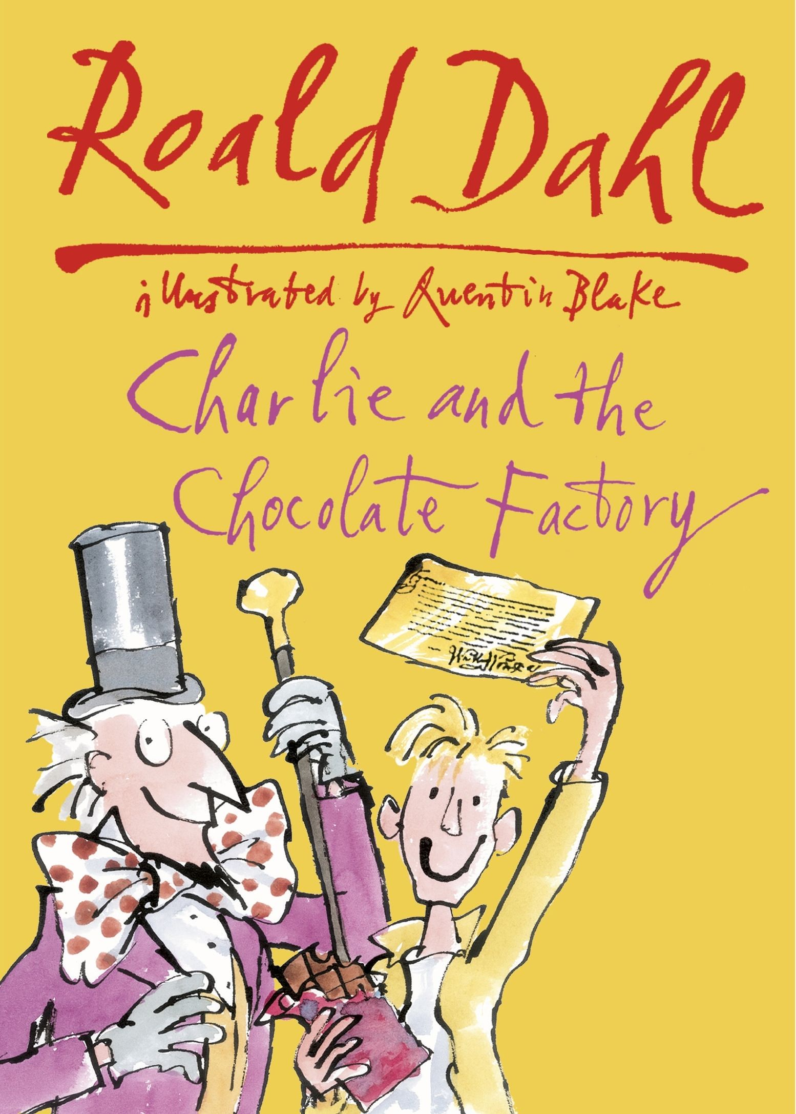Title: Charlie and the Chocolate Factory Author: Roald Dahl ...