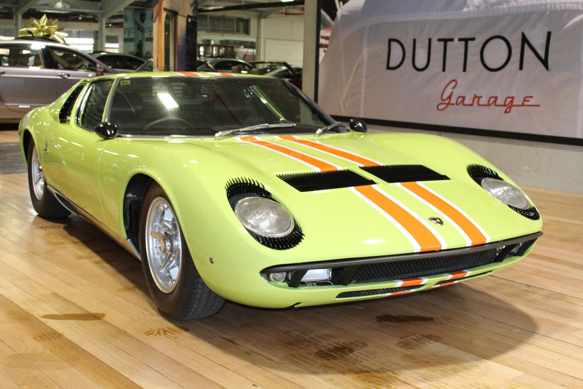 Lamborghini Miura S Owned By Supermodel Twiggy Back In 1969 Icons