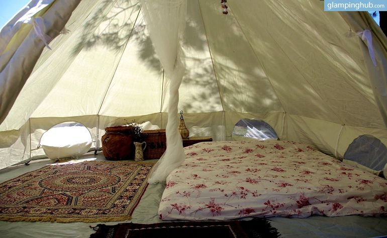 Cozy Bell Tents in Majella National Park in Central Italy & Cozy Bell Tents in Majella National Park in Central Italy | Bell ...