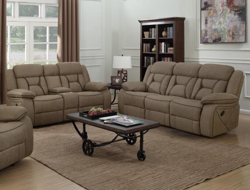2 Pc Houston Tan Reclining Sofa Loveseat Set 602264 Living Room Sets 3 Piece Living Room Set Furniture