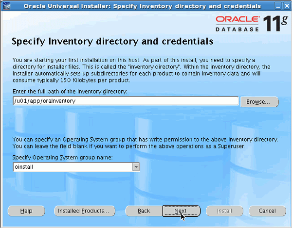 how to install oracle database on linux