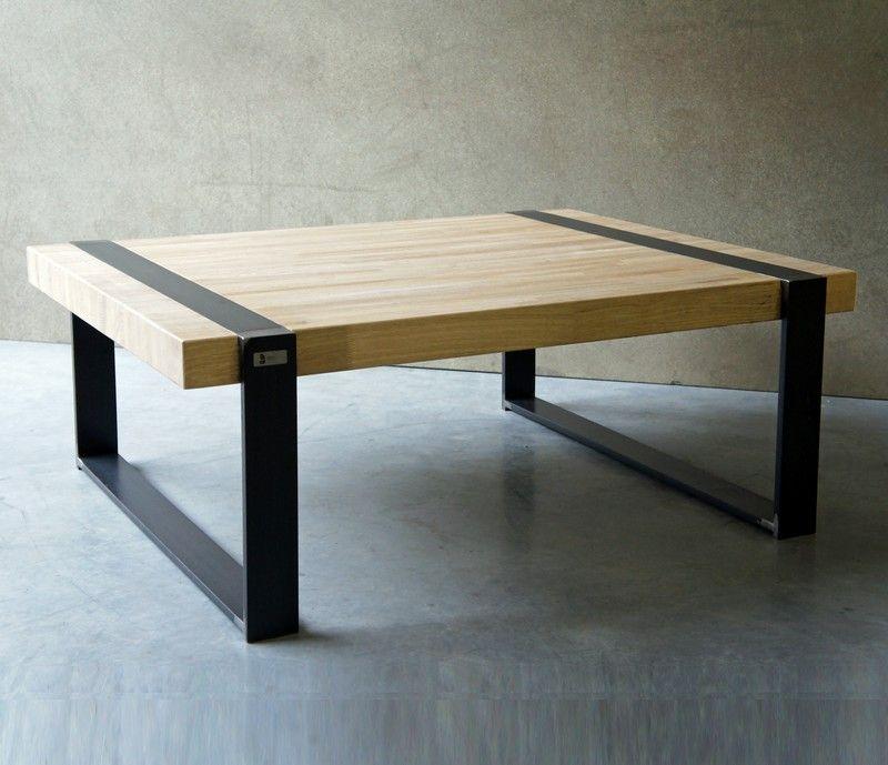 Table Basse Bois Metal Diy Crafts Muebles Industriales Diseno