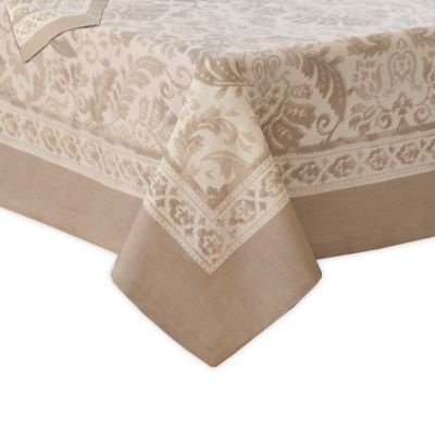 Villeroy Boch Milano 70 X 126 Oblong Tablecloth In Taupe