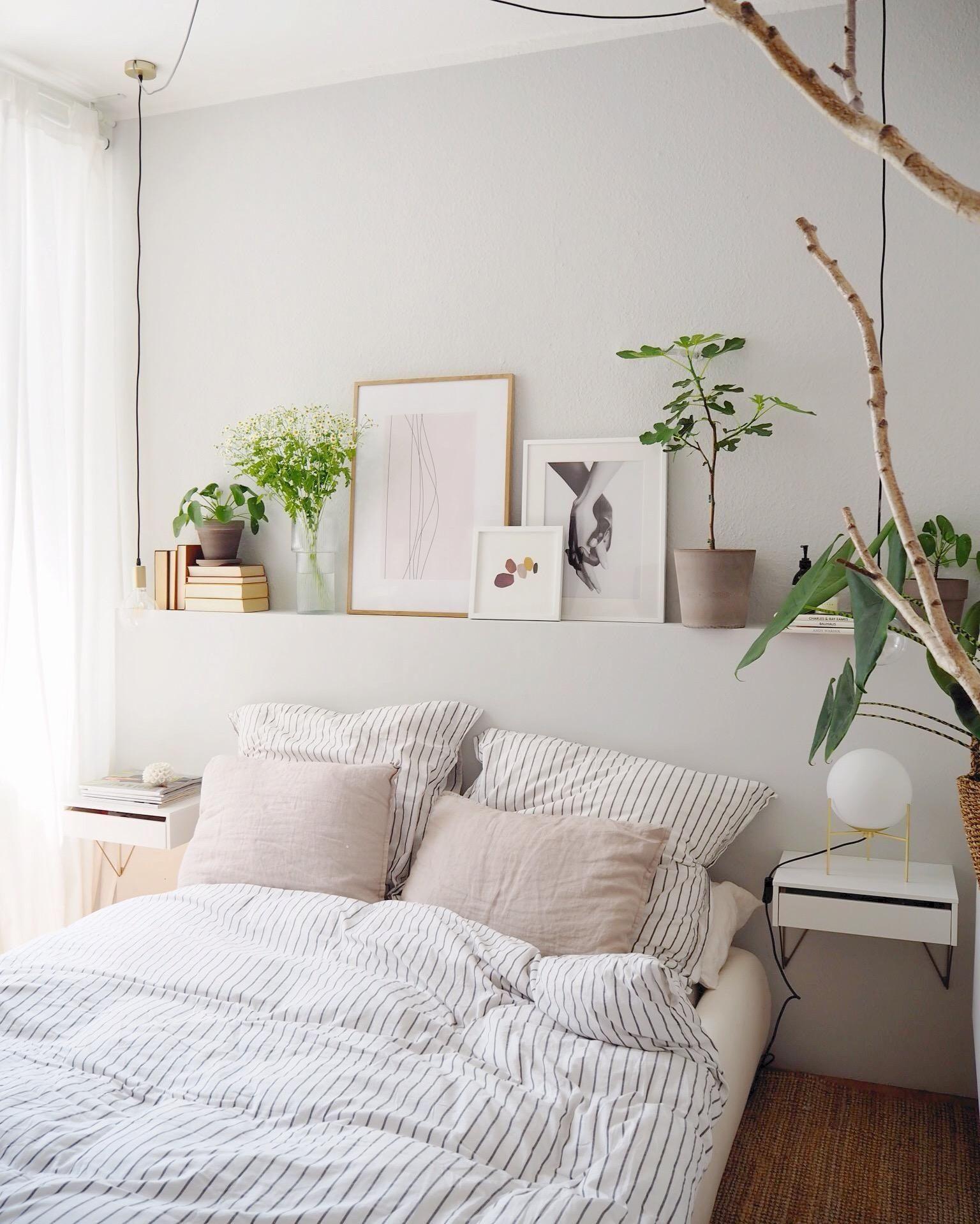 Gibt es etwas schöneres als den halben Tag im Bettch... #bedroominspirations