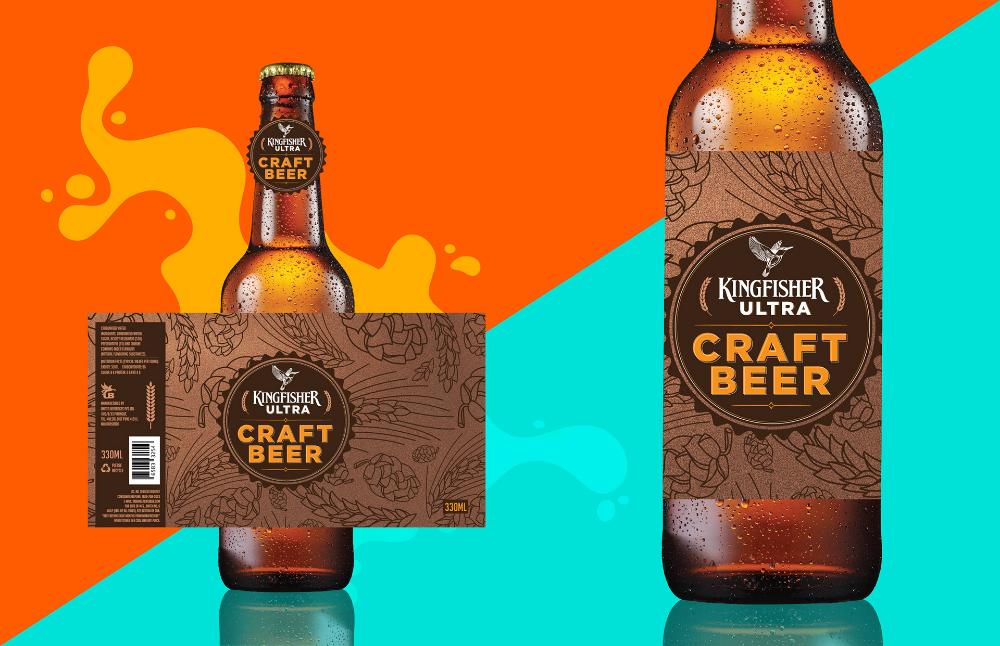 Kingfisher Ultra Craft Beer Packing On Behance Beer Pack Craft Beer Beer