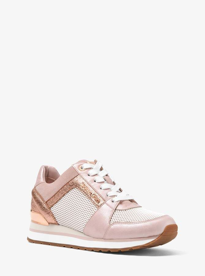 MICHAEL Michael Kors Billie Scuba and Mesh Sneaker | Michael