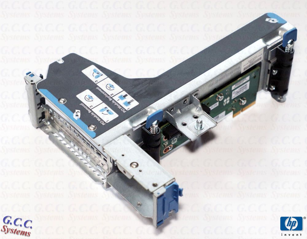 HP ProLiant 684961-001 DL360E Gen8 G8 SFF Backplane /& Hard Drive Cage 667868-001