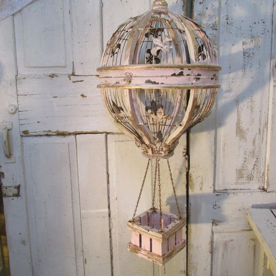 Hot Air Balloon Hanging Home Decor Wood And By Anitasperodesign