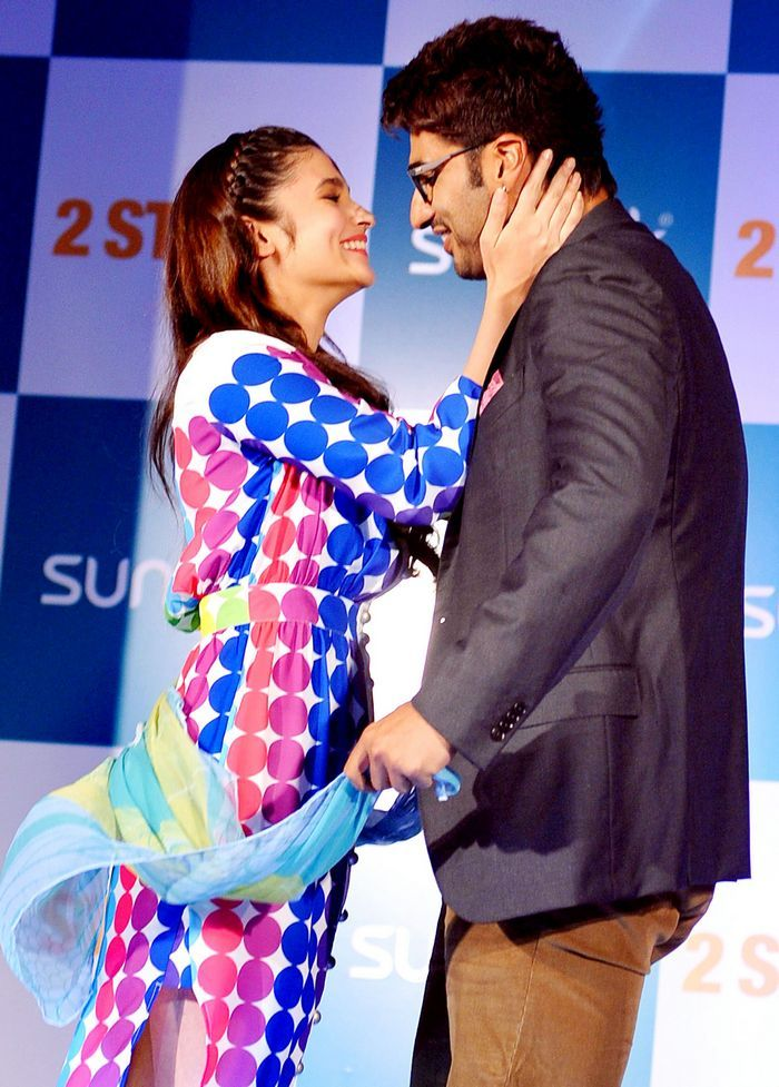 When Alia And Arjun Were Literally Joined At The Hip Alia Bhatt