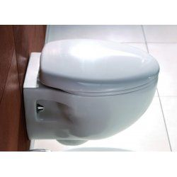 Wc Sospeso Design Moderno Copriwater Soft Close Linea Elis Bagni