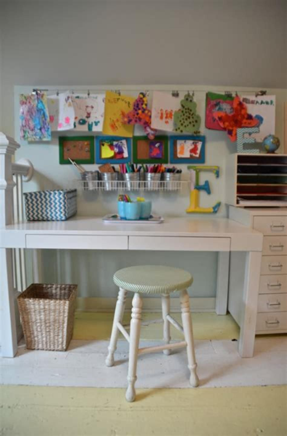 42 Perfect Ikea Craft Room Table With Storage Ideas Kids Art