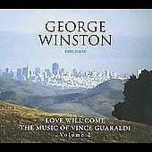 George Winston  Love Will Come: The Music of Vince Guaraldi Vol. 2  CD  NEW