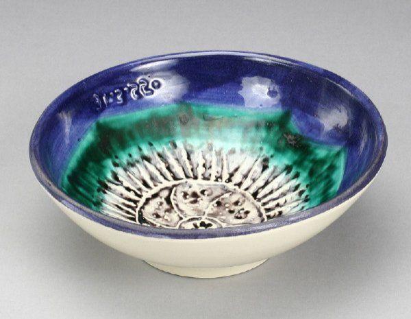 """Pablo Picasso ceramic bowl, """"Sea Urchin."""""""