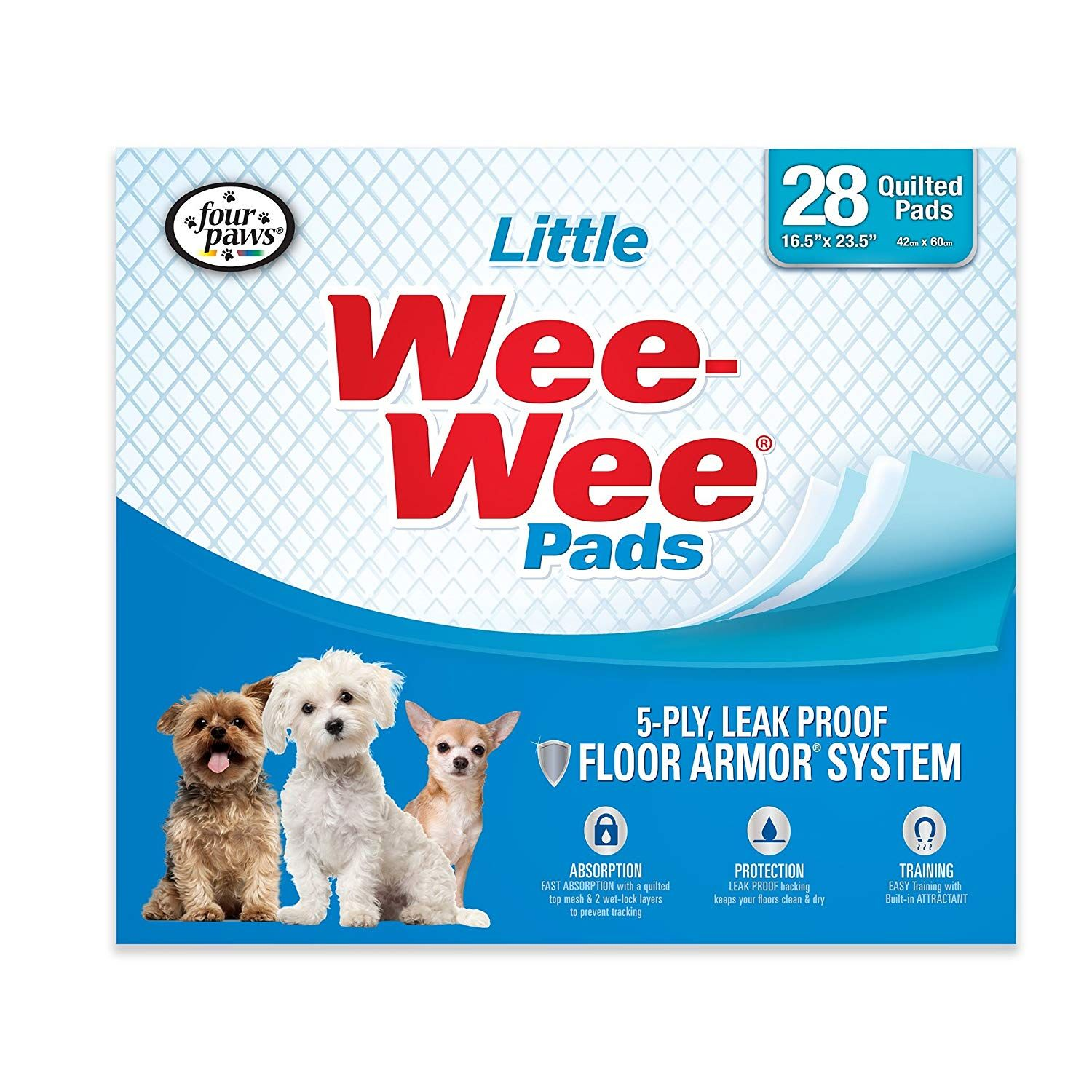 Four Paws Wee Wee Little Puppy Pads 28 Ct Very Kind Of Your