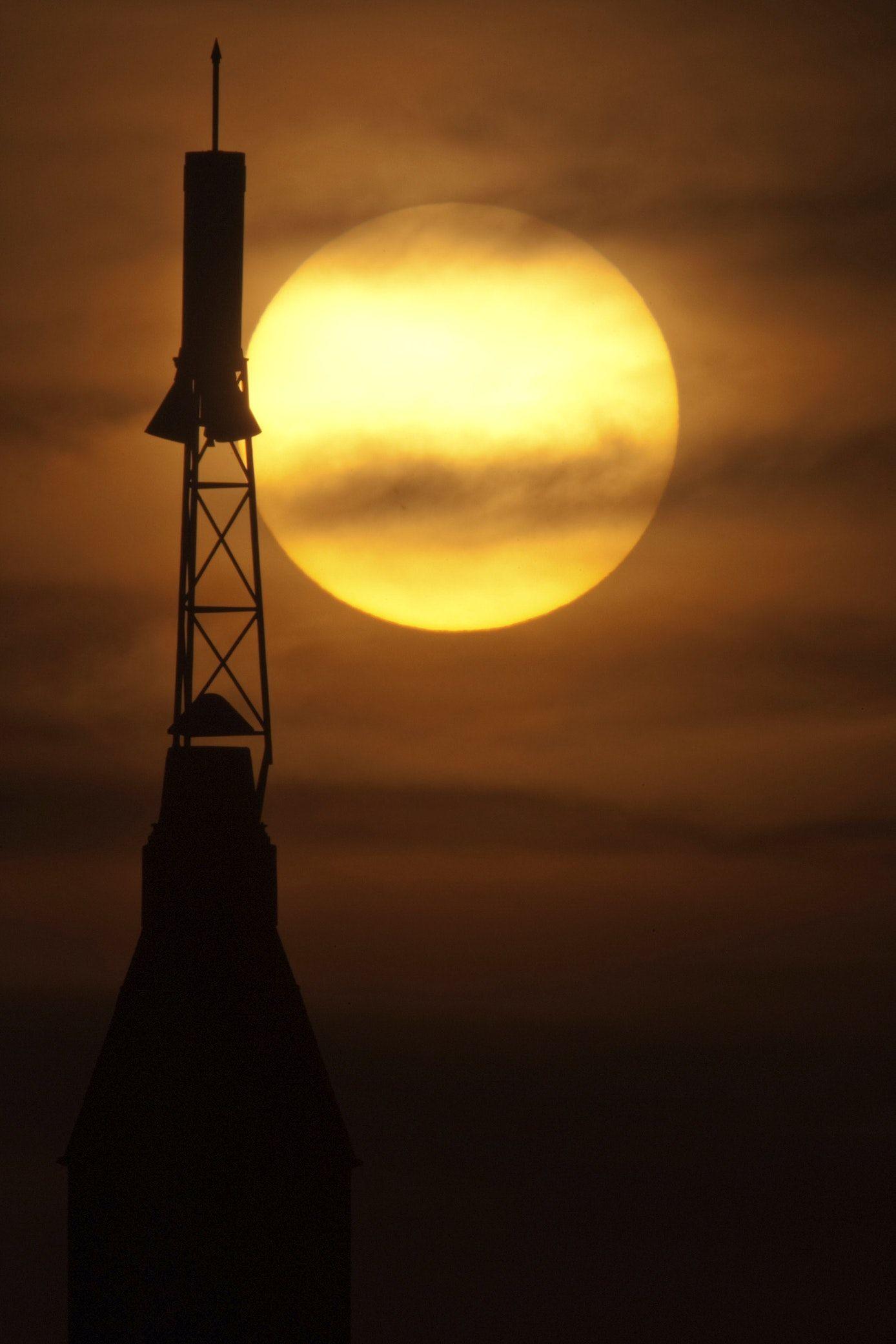 The June 5, 2012 transit of Venus. Original from NASA ...