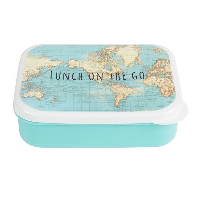 https://www.sassandbelle.co.uk/Lunch On The Go Vintage Map Lunch Box