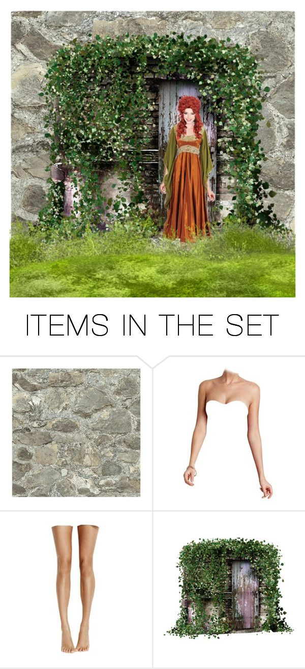 """MEDIEVAL DOLL"" by paula-parker ❤ liked on Polyvore featuring art"