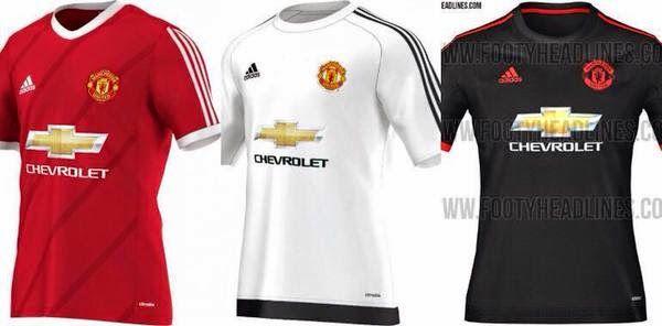 Futbol de Locura  Los nuevos uniformes del Manchester United para el 2015  2016 ab3926e5a96