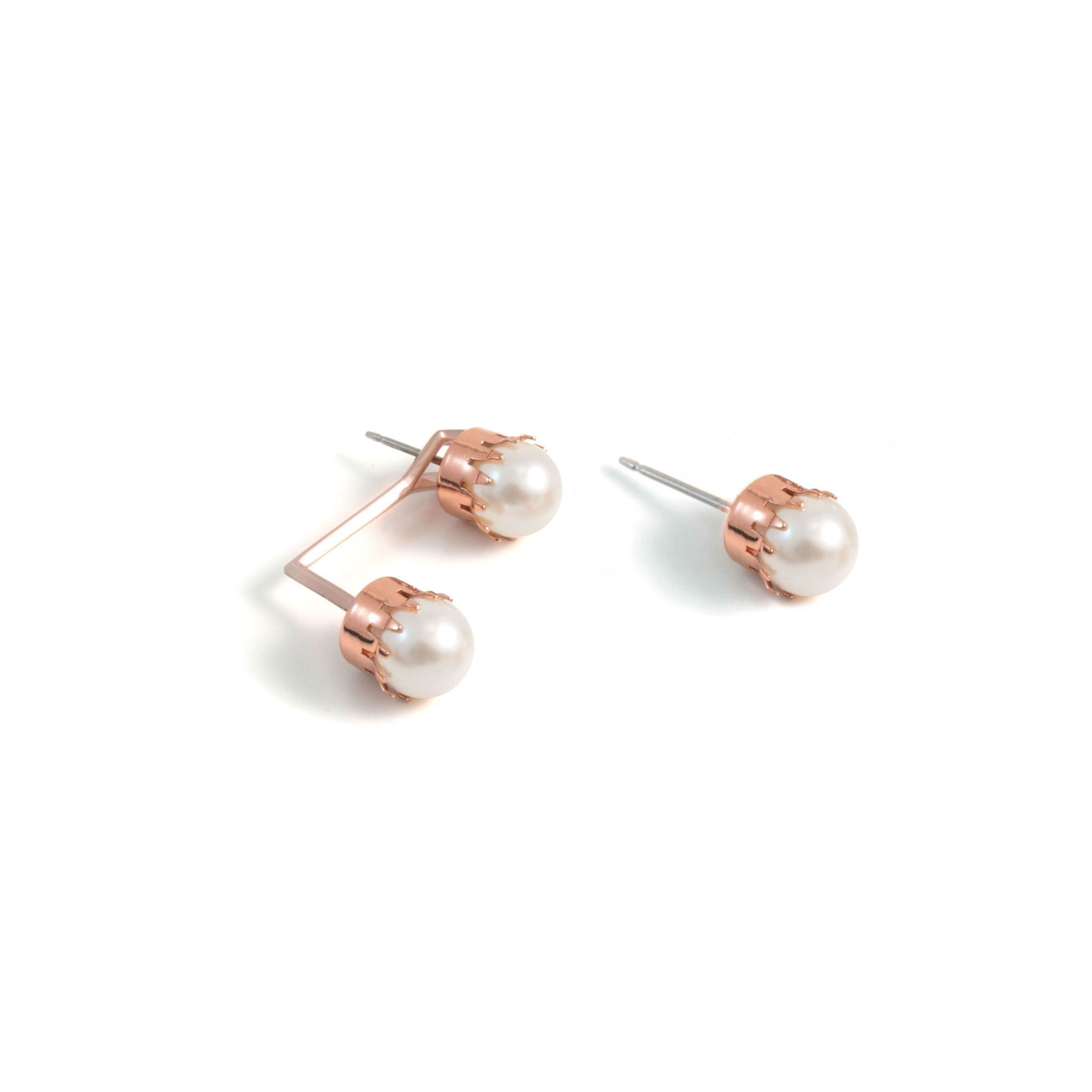 plated stud lavender with black cultured earrings sterling pearls cz freshwater asp drops gold aa p white pearl on pink silver posts