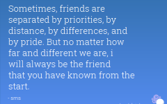 Quotes About Friends Separated By Distance | Short Quotes | Short