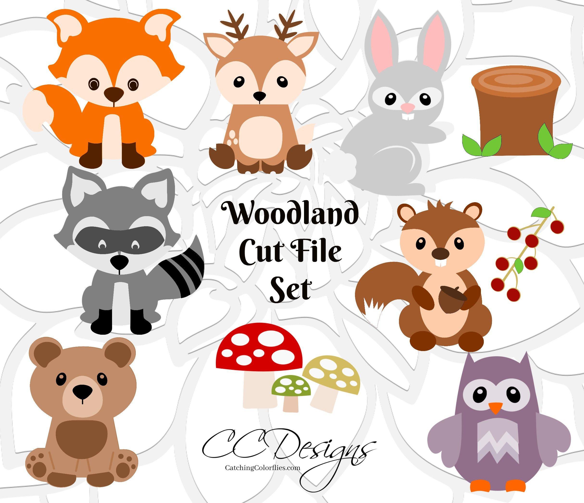 Image result for Free Animal SVG Files Woodland animals