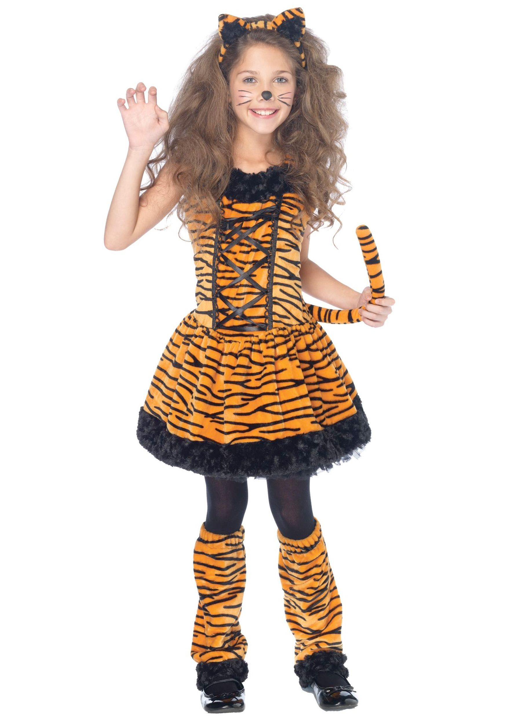 tiger costume for e would need to add sleeves and lose the corset - Tiger For Halloween