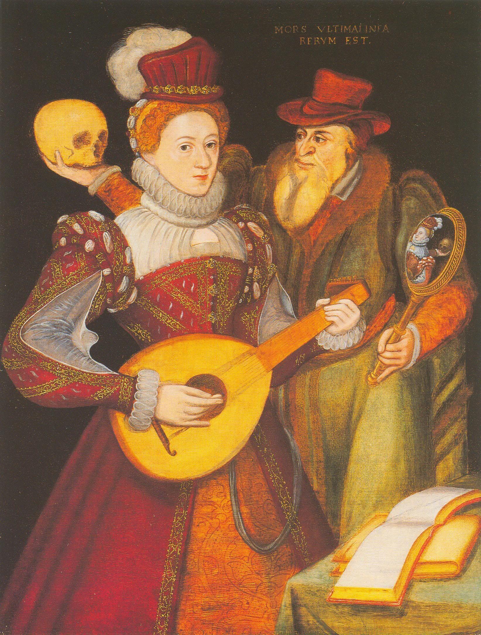 1570 Elizabeth I of England Renaissance fashion, 16th