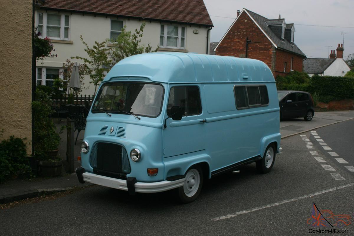 Vintage Renault Camper