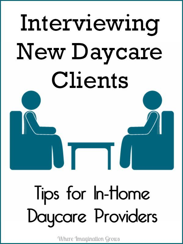 interviewing daycare providers