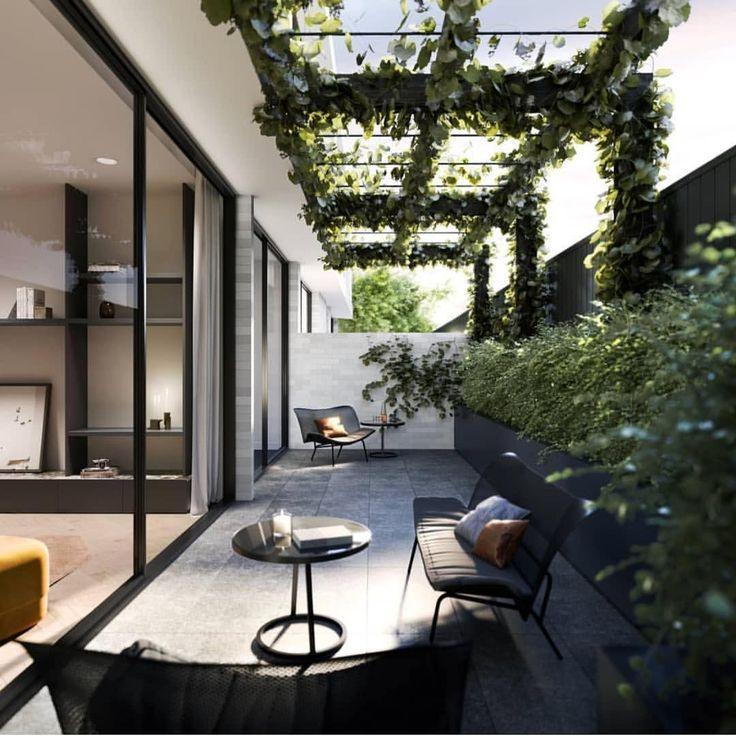 Haben Sie ein Haus mit Flachdach oder wohnen Sie im Gebäude? Es ist die richtige Zeit ... - Dekoration 2019 #terraceapartments