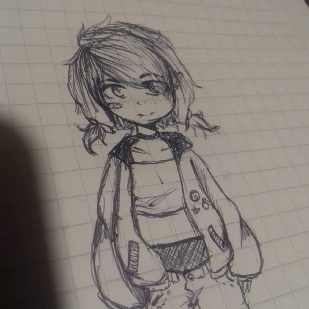 Quería Dibujar Algo Rudo But But It S Not So Bad Anime Draw Oc Drawing Drawer Girl Animegirl Cute Cutegirl Goodg Cute Drawings Furry Art Anime