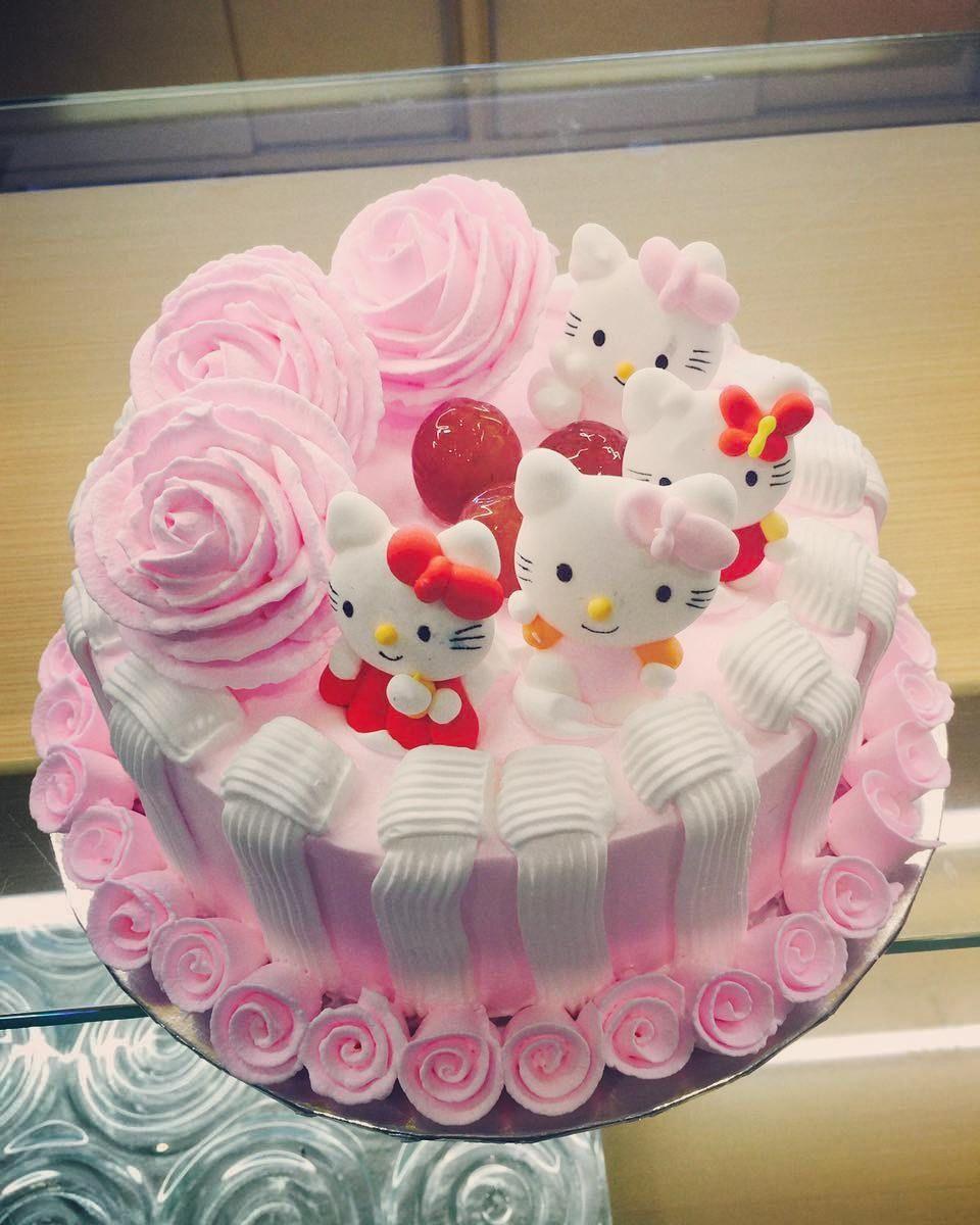 Korean Flowers Hello Kitty Only 215k Kue Ulang Tahun Ulang Tahun