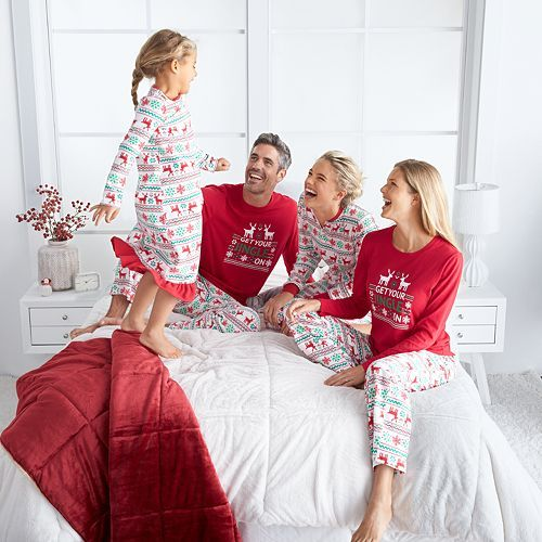 jammies for your families jingle pajama collection kohls
