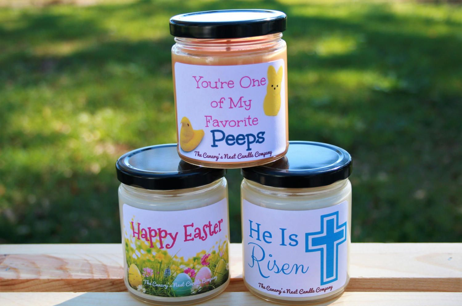 Easter soy candle gift jar candles easter candles spring candles easter soy candle gift jar candles easter candles spring candles easter gifts negle Images