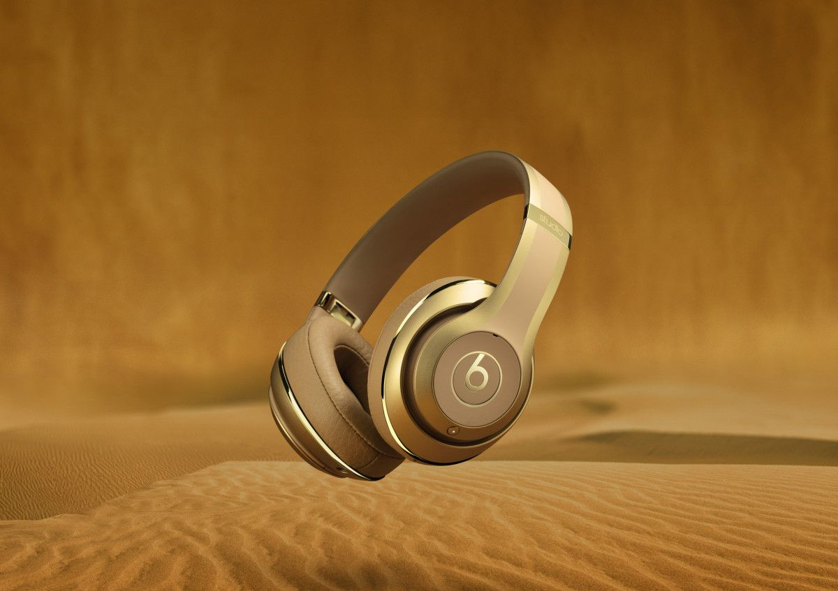 15528db9646 Beats by Dr. Dre and Balmain Team Up on a Luxe Headphone Collection Beats by