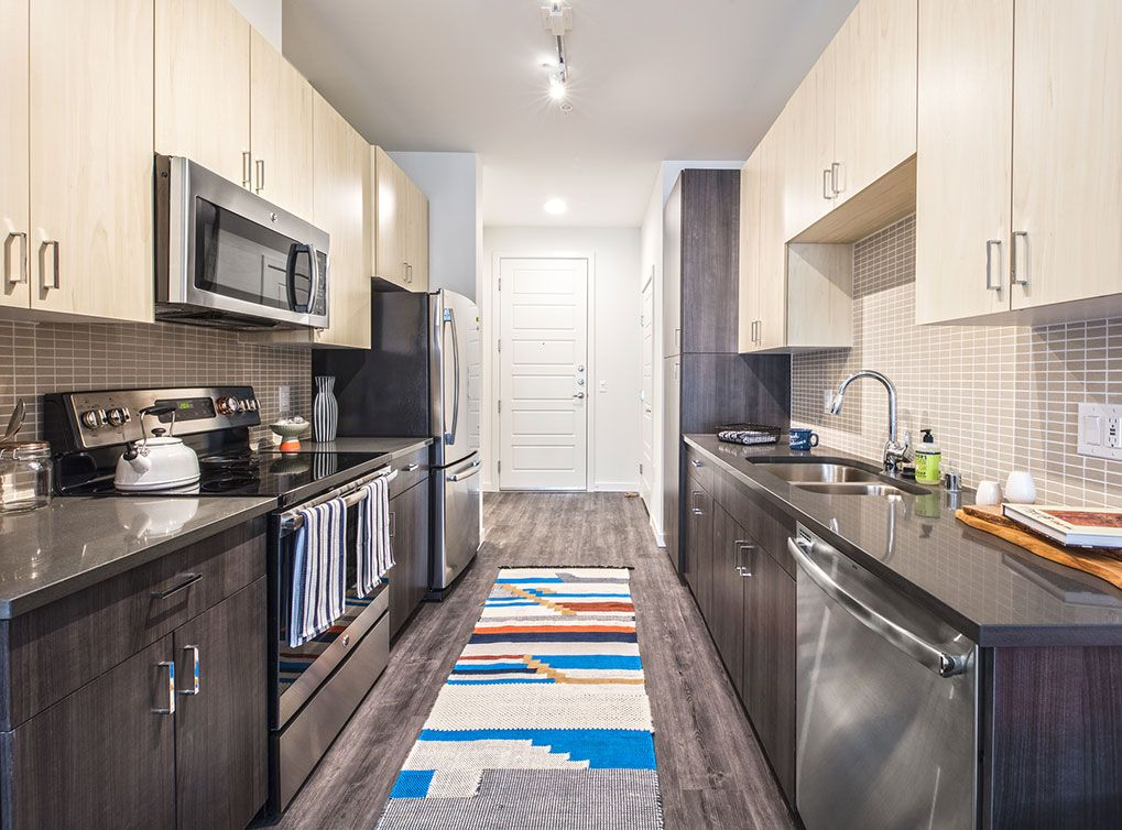 Long runner! Sleek kitchen, Apartments for rent, Apartment