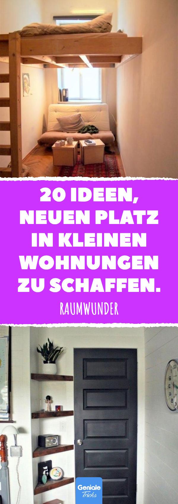 Photo of 20 Ideen, neuen Platz in kleinen Wohnungen zu schaffen.
