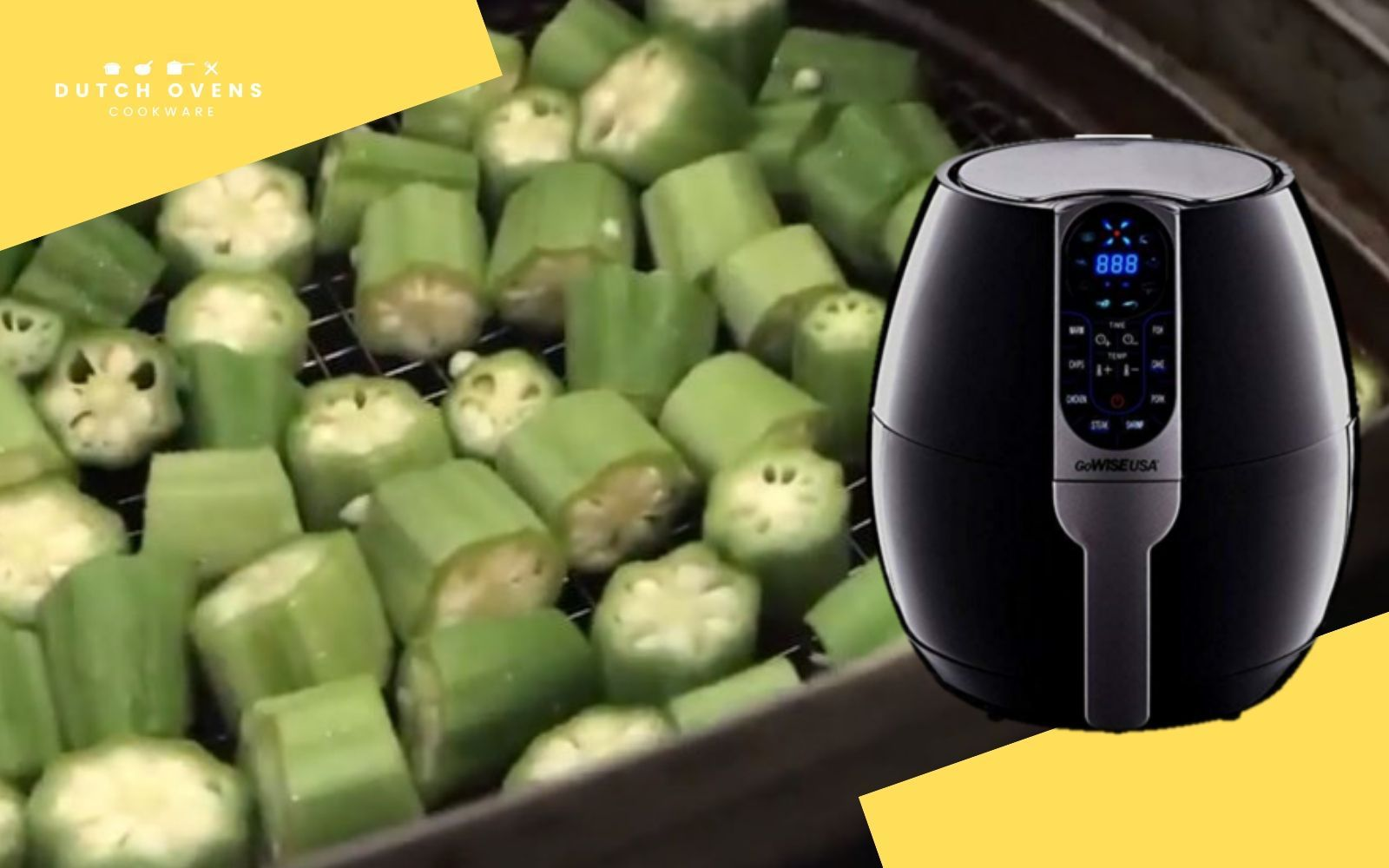 Air Fryer Okra …It's Delicious, Find Out How Air fryer