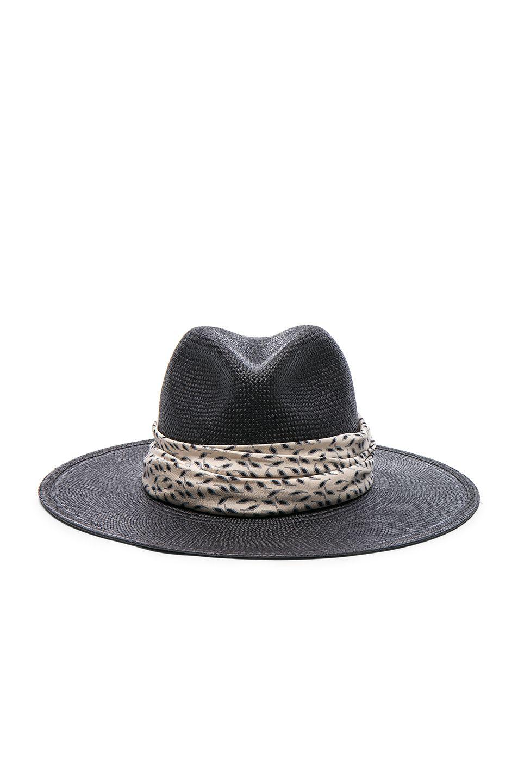 9a5261c9 JANESSA LEONE Josephine Short Brimmed Panama Hat. #janessaleone ...