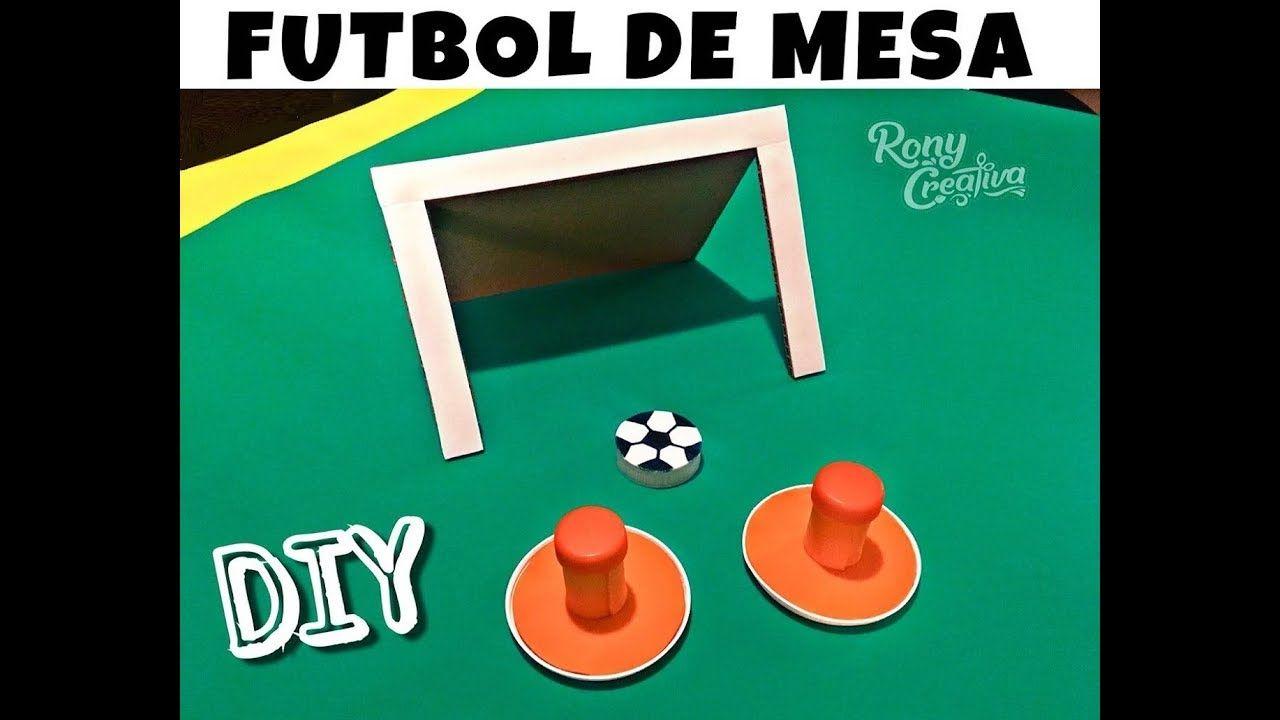 Como Hacer Juego De Mesa De Futbol Con Material Reciclado
