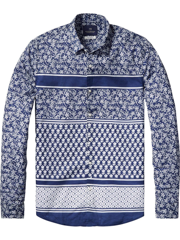 India Inspired Shirt | Shirts ls | Men Clothing at Scotch & Soda