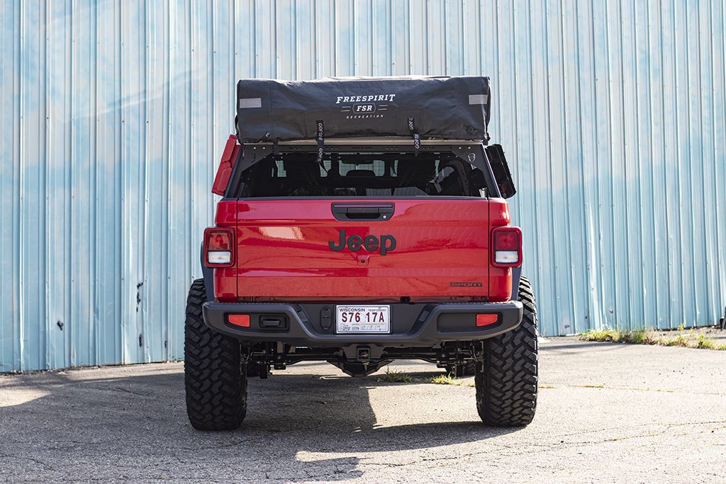 JT Bed Rack Jeep Gladiator (2020+) (With images) Jeep