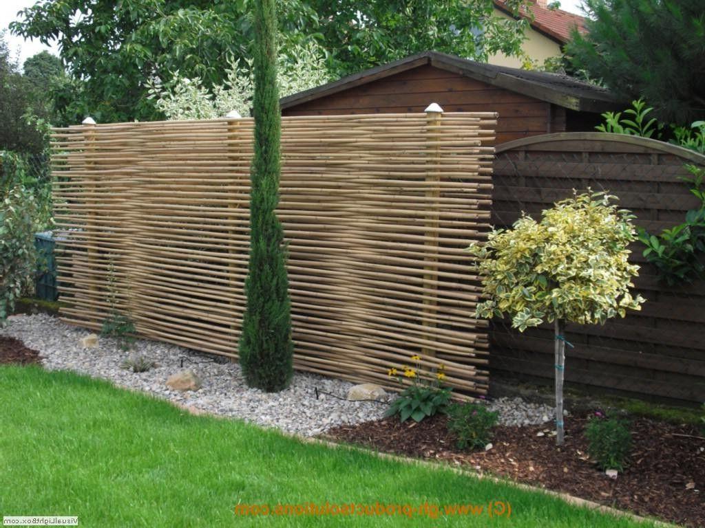 Gartengestaltung Ideen Sichtschutz Draussen Hausdesign